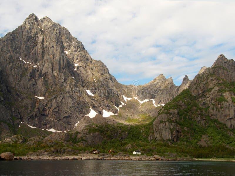 Arktyka jest lofoten dolinę lodowaty