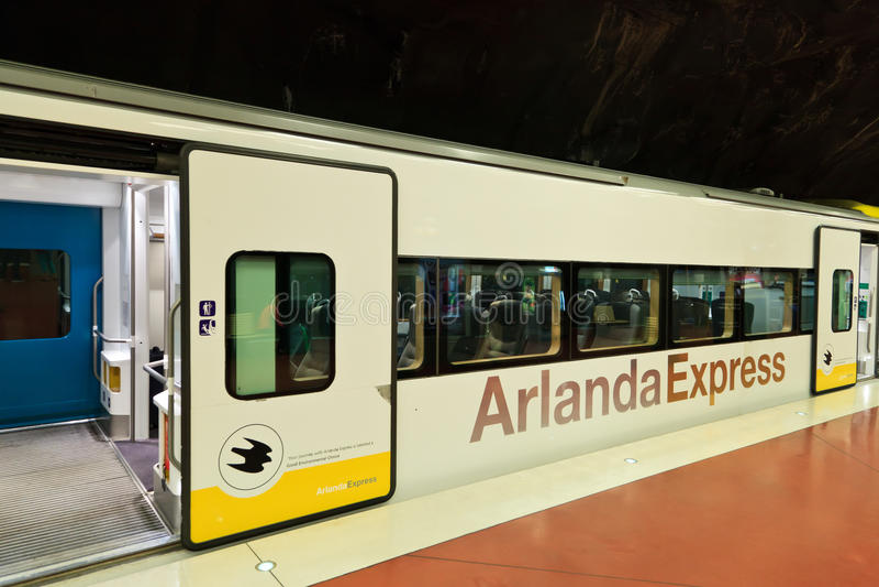 Arlanda express stock photography