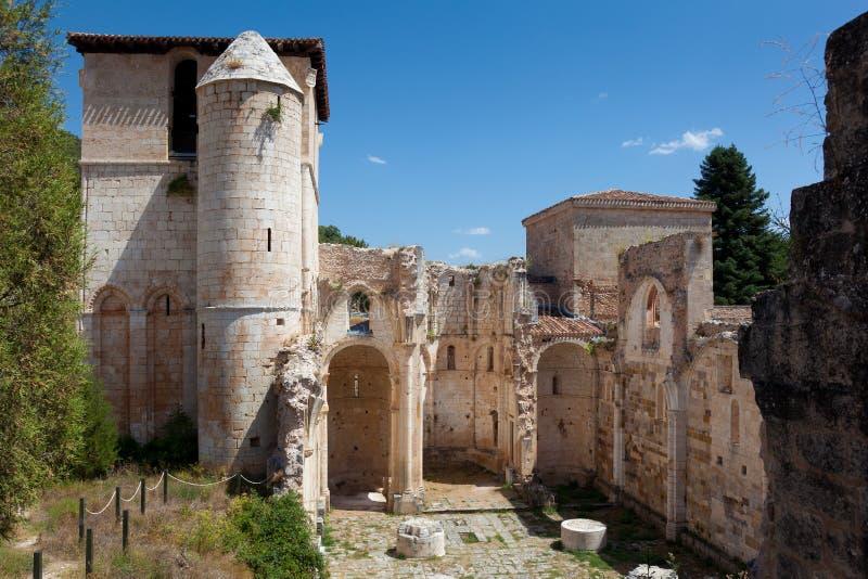 arlanza de monastery pedro ・圣 库存照片