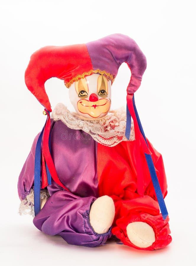 Arlekińska lala obraz stock