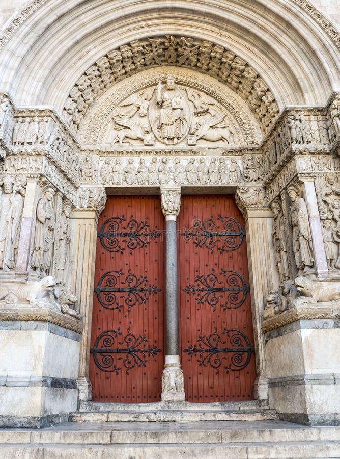 Arles, świętego kościół zdjęcie stock