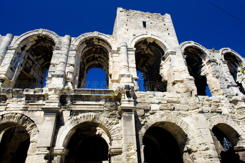 Download Arles stock image. Image of buildings, amphitheater, history - 10501151