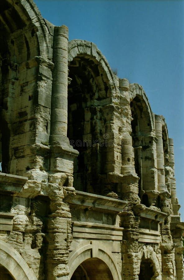 Arles amphiteathre stockfotos