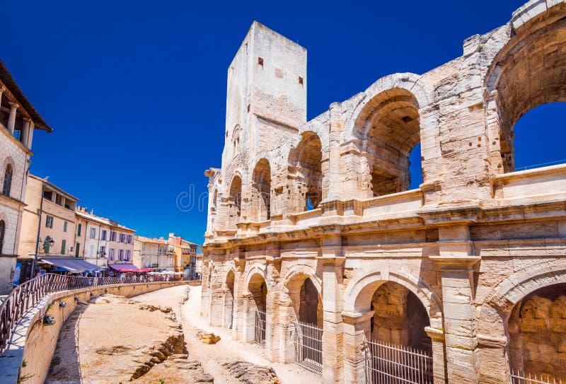 Arles Amphiteatre, Francja, - zdjęcia royalty free