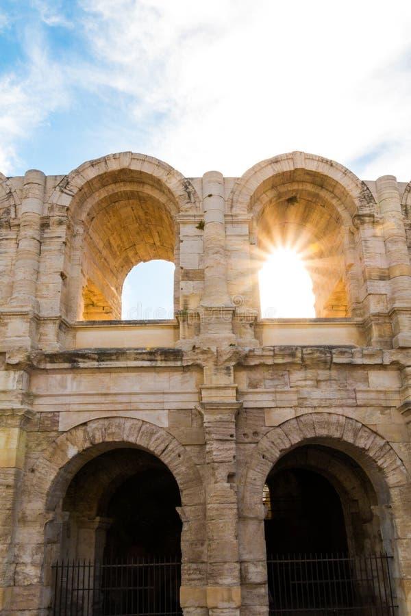 Arles Amphitheatre lizenzfreie stockfotografie