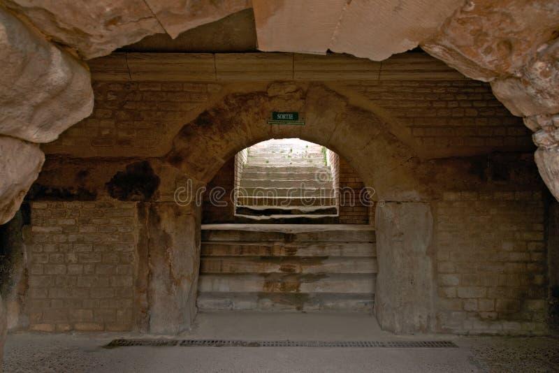 Arles Amphitheatre, Francja obrazy stock