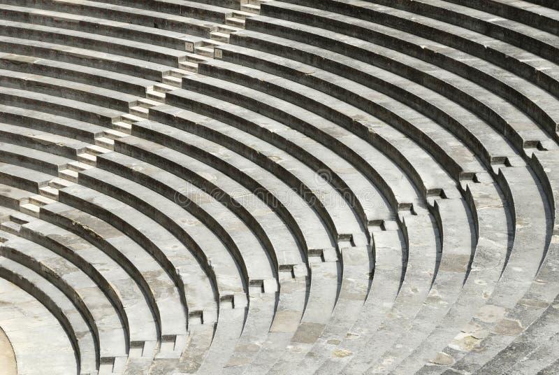 arles France d'arène romaine photos stock