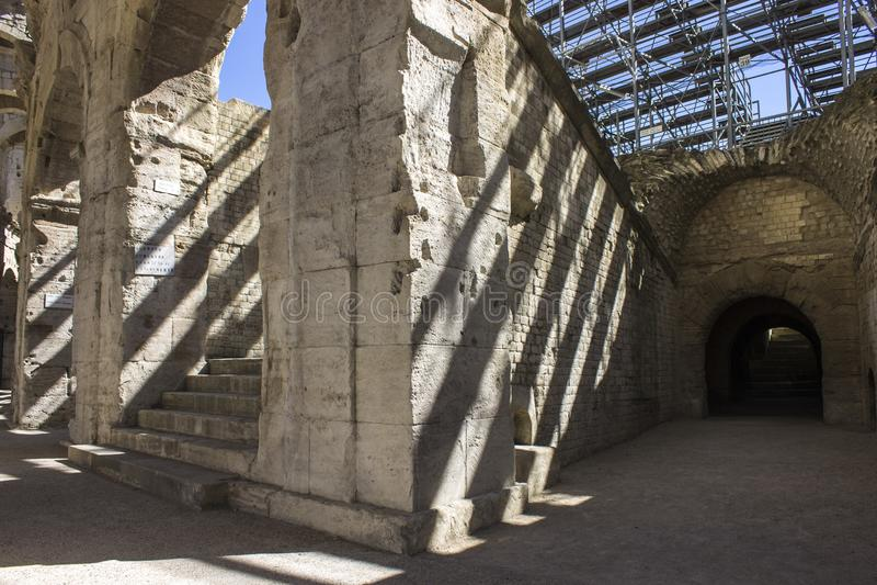 Arles, Frankreich stockfotos