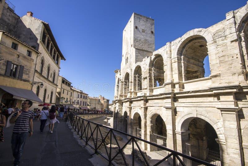 Arles, Frankreich stockbilder