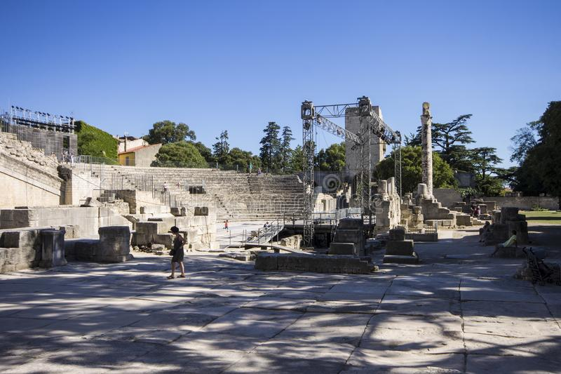 Arles Frankrike royaltyfri foto
