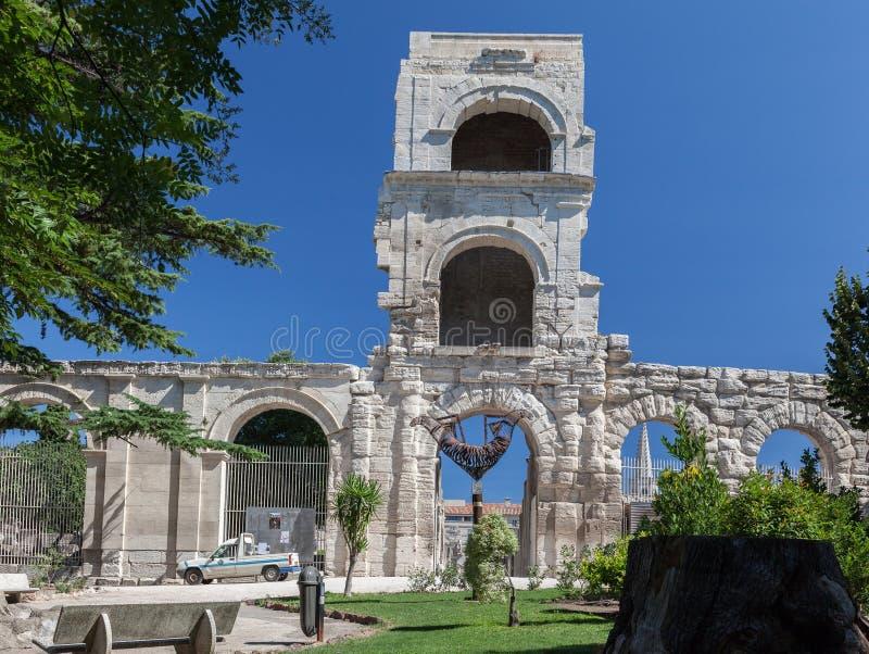 Arles Roman Theater Provence France lizenzfreie stockfotografie