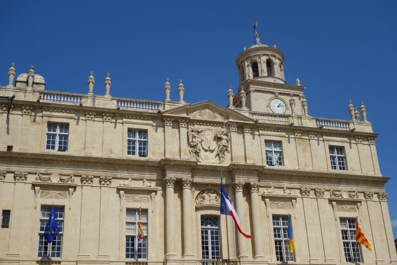 Arles stadshus arkivbild