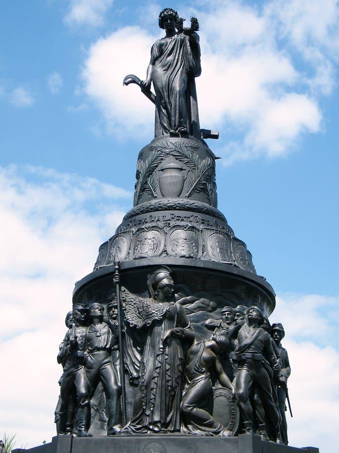 Arlington cementerio confederado monumento abril de 2010 fotos de archivo libres de regalías