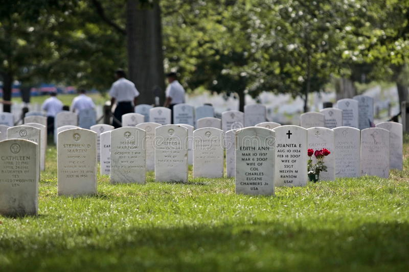 Download Arlington Cemetery editorial photography. Image of grass - 21072167