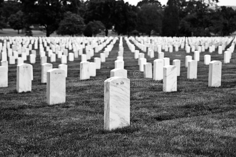 Download Arlington Cemetery stock image. Image of heroes, columbia - 2817725