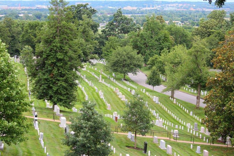 Arlington Cemetery royaltyfria foton