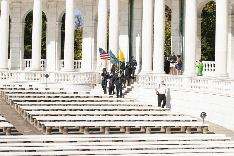 Arlington-Denkmal-Amphitheater stockfotografie