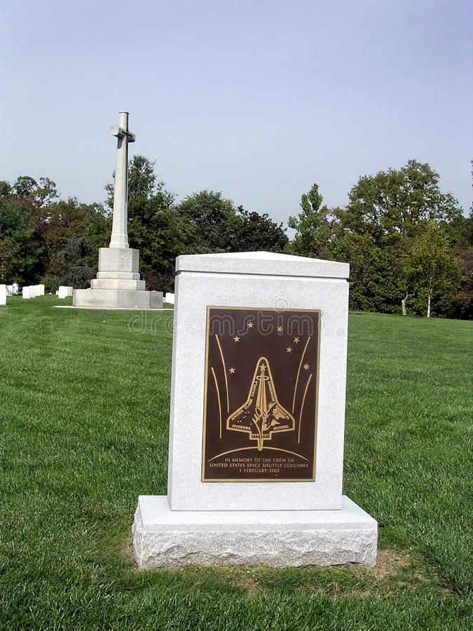 Arlington-Kirchhof-Kolumbien-Denkmal 2004 stockfoto