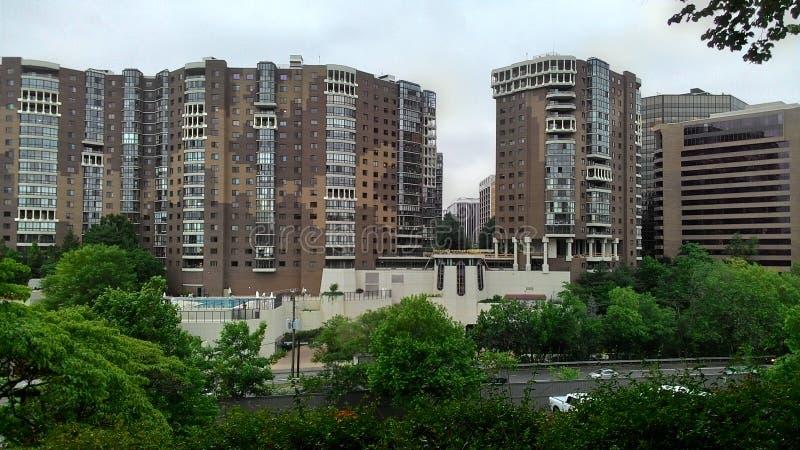 Arlington lägenheter arkivfoto
