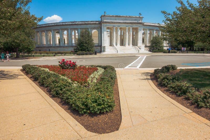 Arlington Memorial Amphitheater stock afbeeldingen