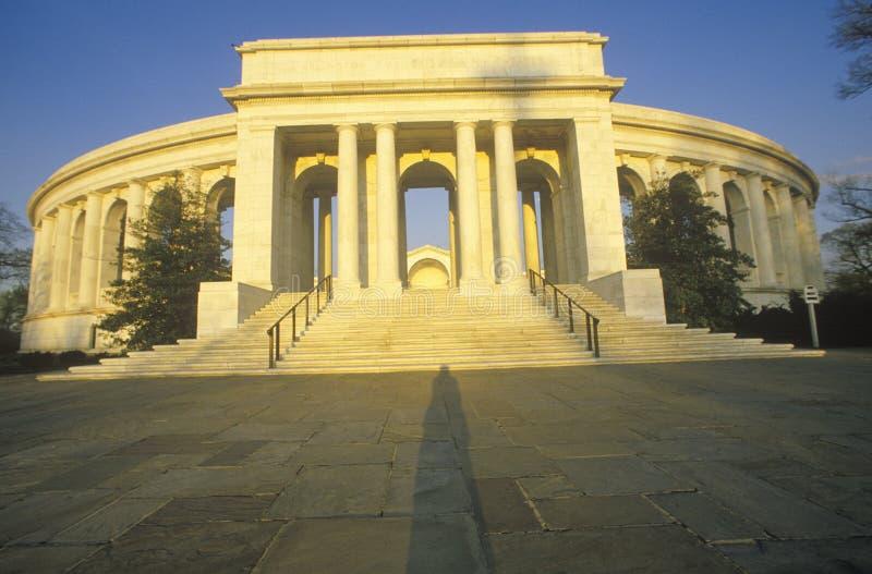 Arlington Memorial Theater stock photo