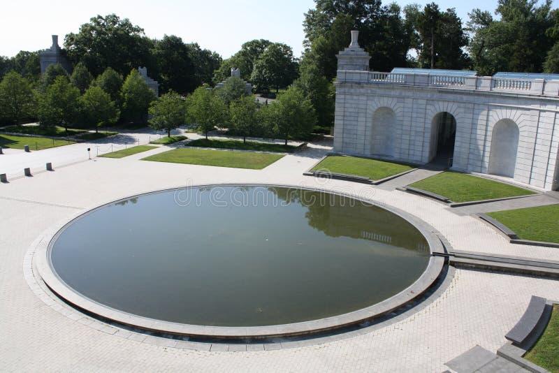 Arlington minnesmärke arkivfoton