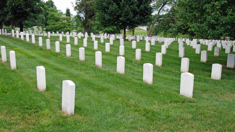 Arlington National Cemetery In Washington DC Editorial Stock Photo
