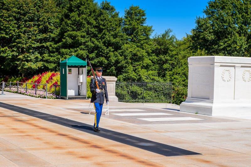 Arlington Nationale Begraafplaats, Washington royalty-vrije stock afbeeldingen