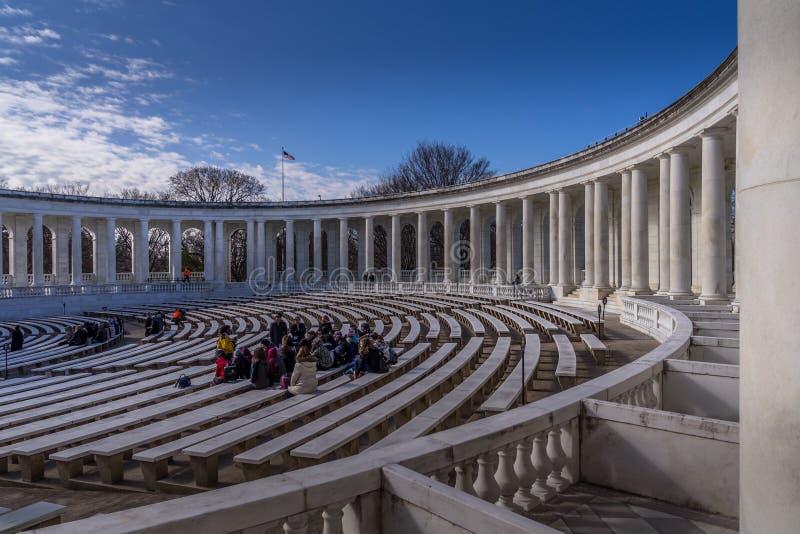 Arlington-nationaler Friedhof stockbilder