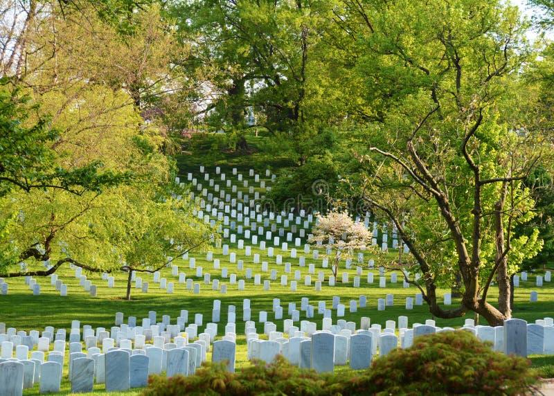 Arlington-nationaler Kirchhof lizenzfreies stockbild