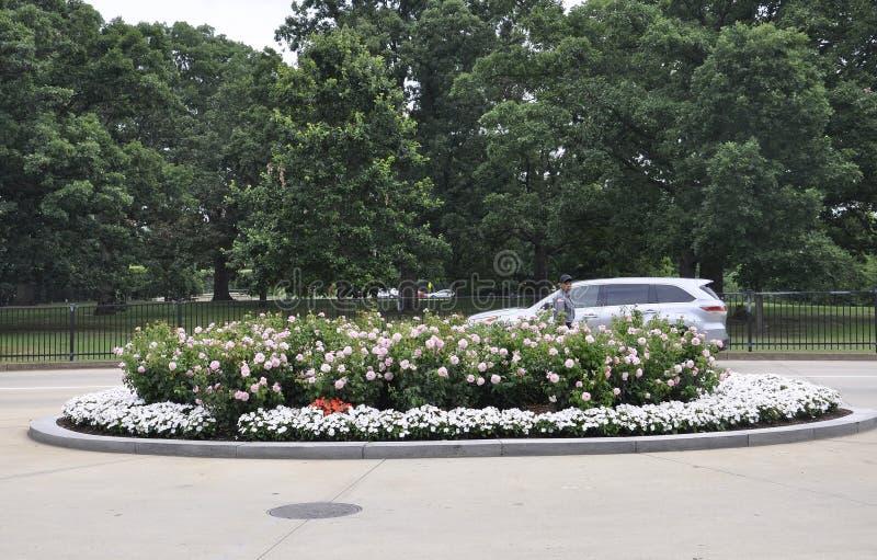 Arlington, Virginia, am 5. Juli: Arlington-Kirchhoflandschaft von Virginia USA lizenzfreie stockfotografie