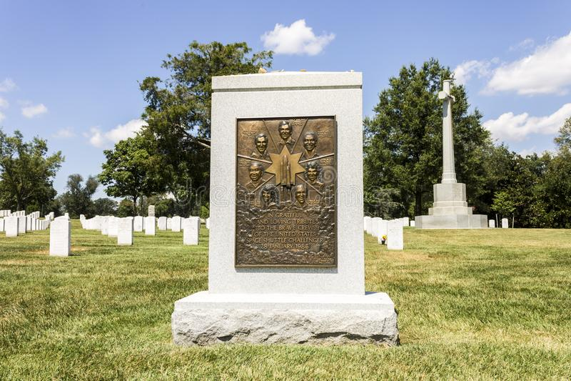 Space Shuttle Challenger Memorial stock images