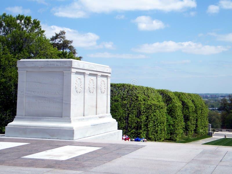 Arlingtonbegraafplaats het Graf van de Onbekende Militair 2010 stock fotografie
