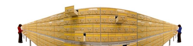 Armário do arquivo imagem de stock