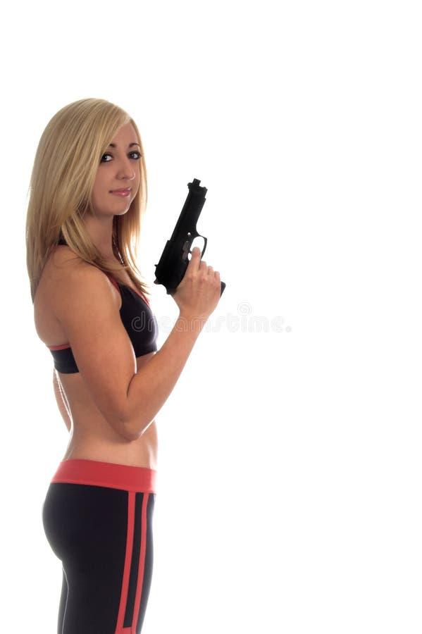 Armé et beau photographie stock libre de droits