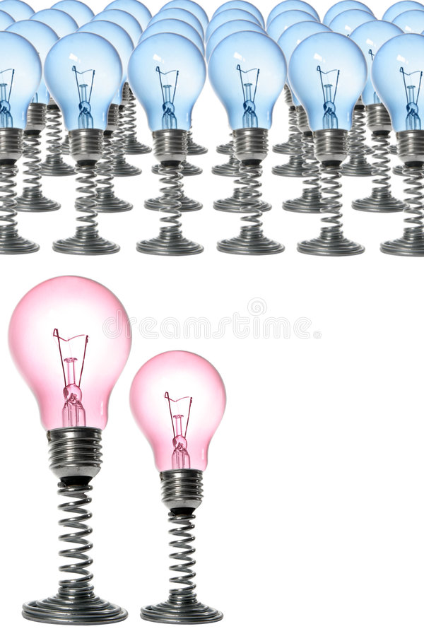Armée d'ampoule images libres de droits