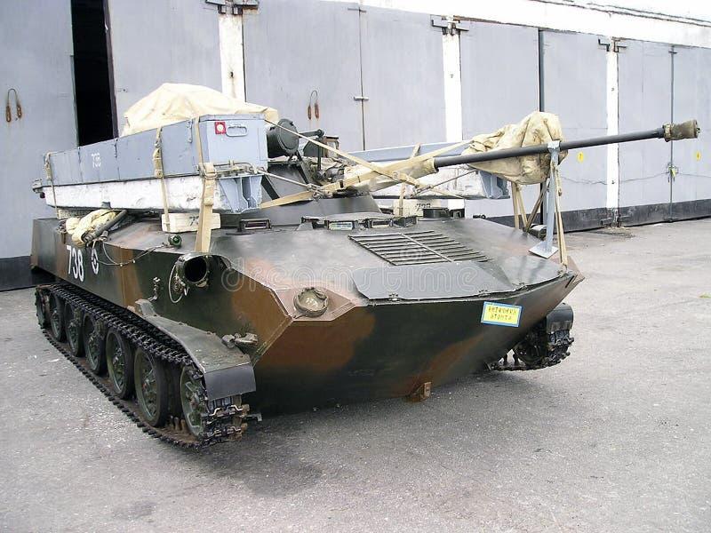 armée d'Ukrainien de réservoir de panzer image stock
