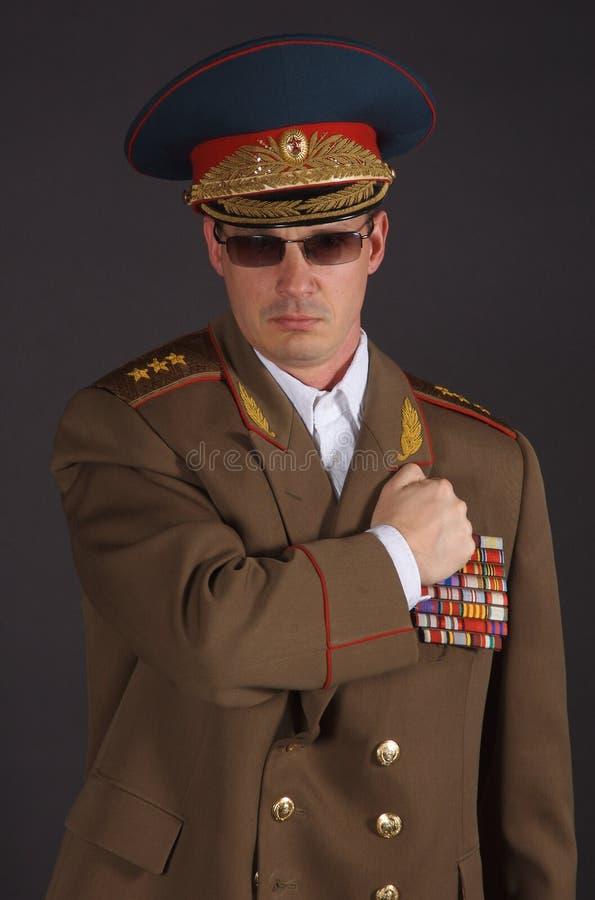Armée Potrait photographie stock