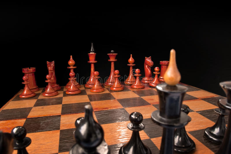 Armées d'échecs photos libres de droits
