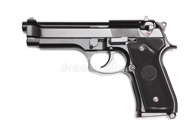arméhandeldvapen m9 modernt s u royaltyfri bild
