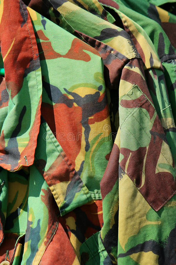 armékamouflage royaltyfria foton
