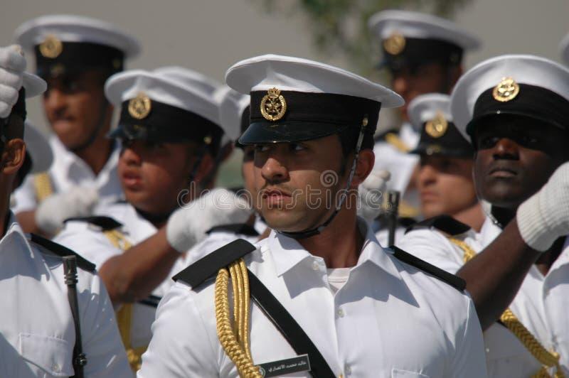 armékuwait show royaltyfri foto