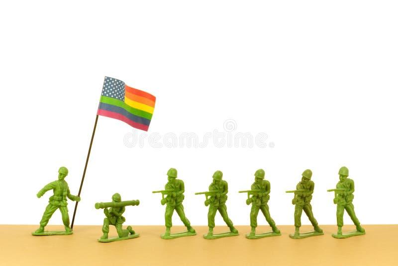 armélgbt arkivfoto