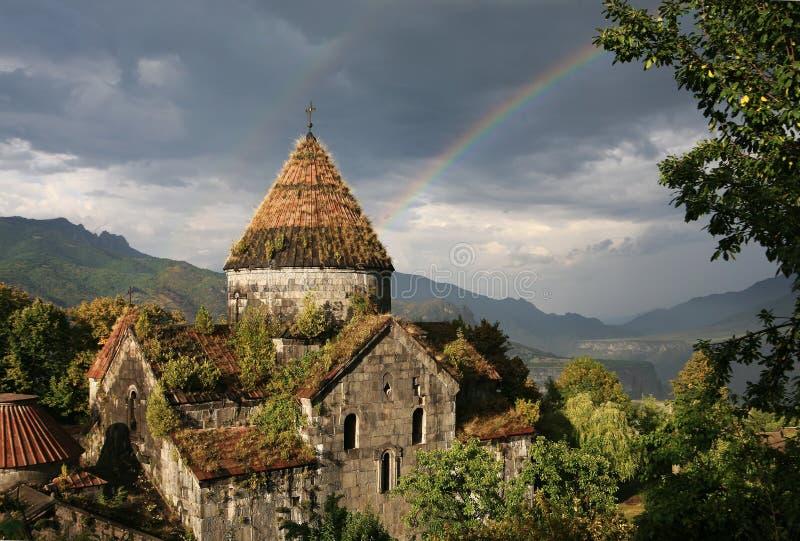 Arménia. Monastério Sanain fotografia de stock
