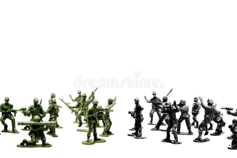 armésoldater royaltyfria foton