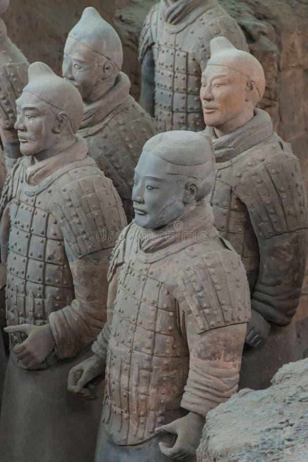 arméterrakotta xian arkivbild
