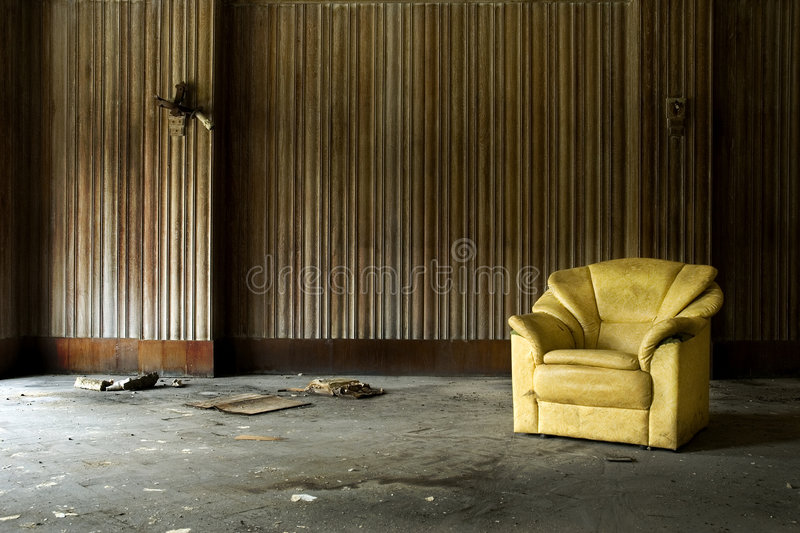 Arm Chair royalty free stock photography
