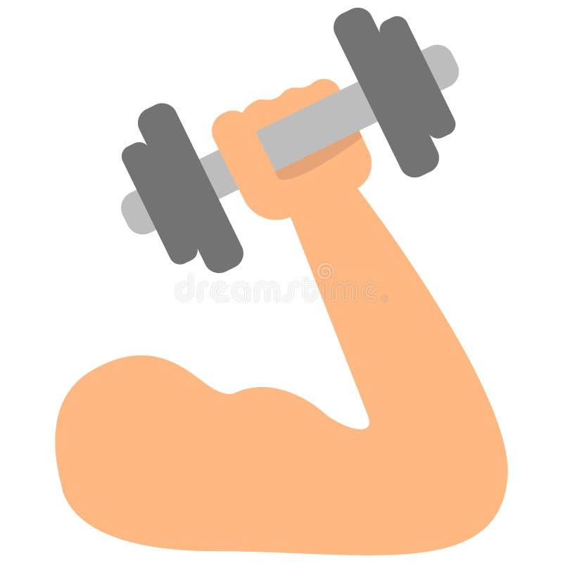 Arm mit Dummkopf stock abbildung