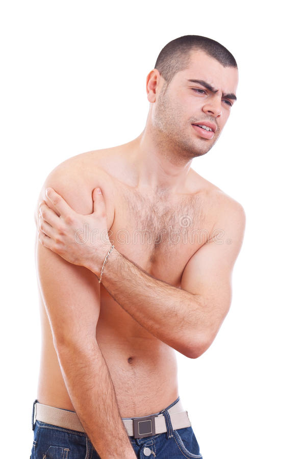 Download Arm pain stock image. Image of sick, massage, pain, attractive - 23927017