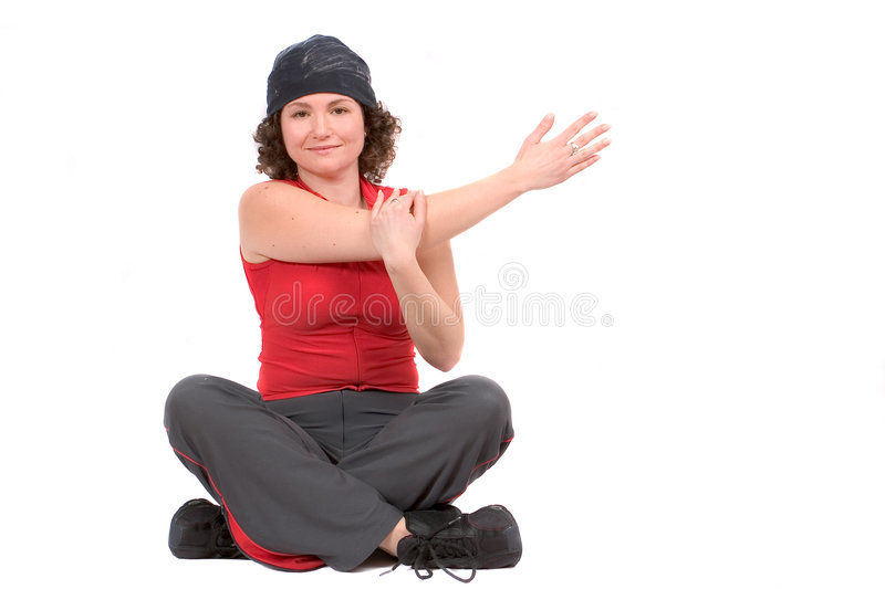 Download Arm stretch stock photo. Image of beauty, person, attractive - 453624